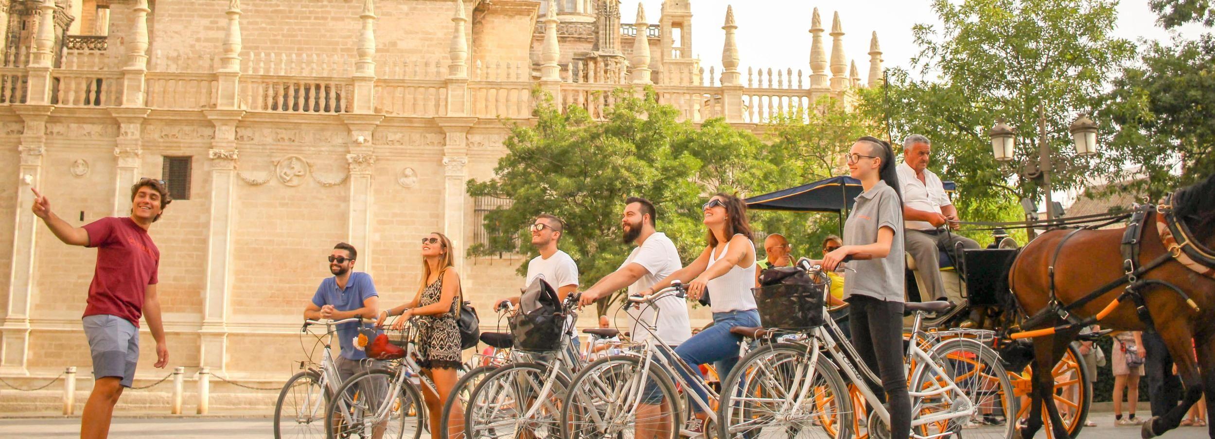 Séville: 3 heures historique Bike Tour