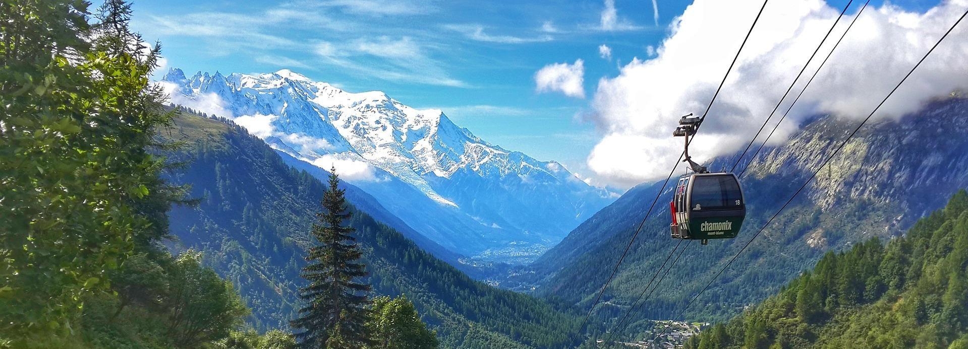 Vanuit Genève: begeleide dagtrip Chamonix en Mont-Blanc