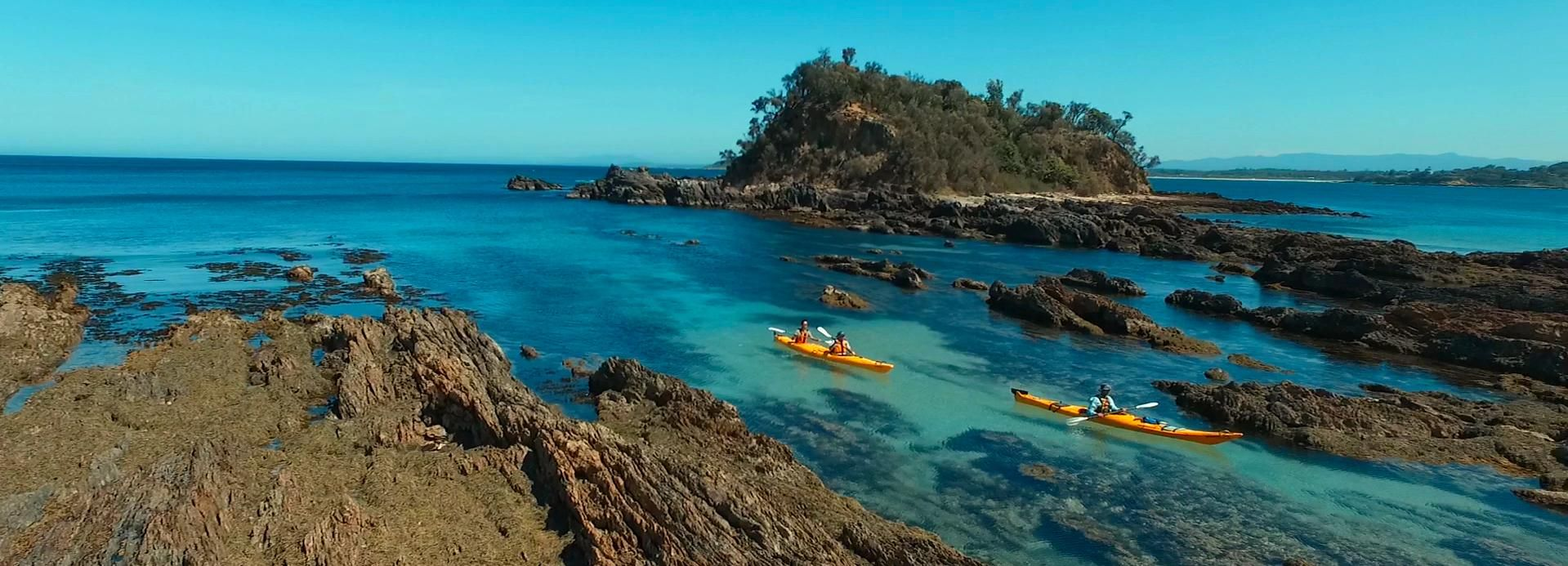 Batemans Bay: Half-Day Sea Kayak Tour