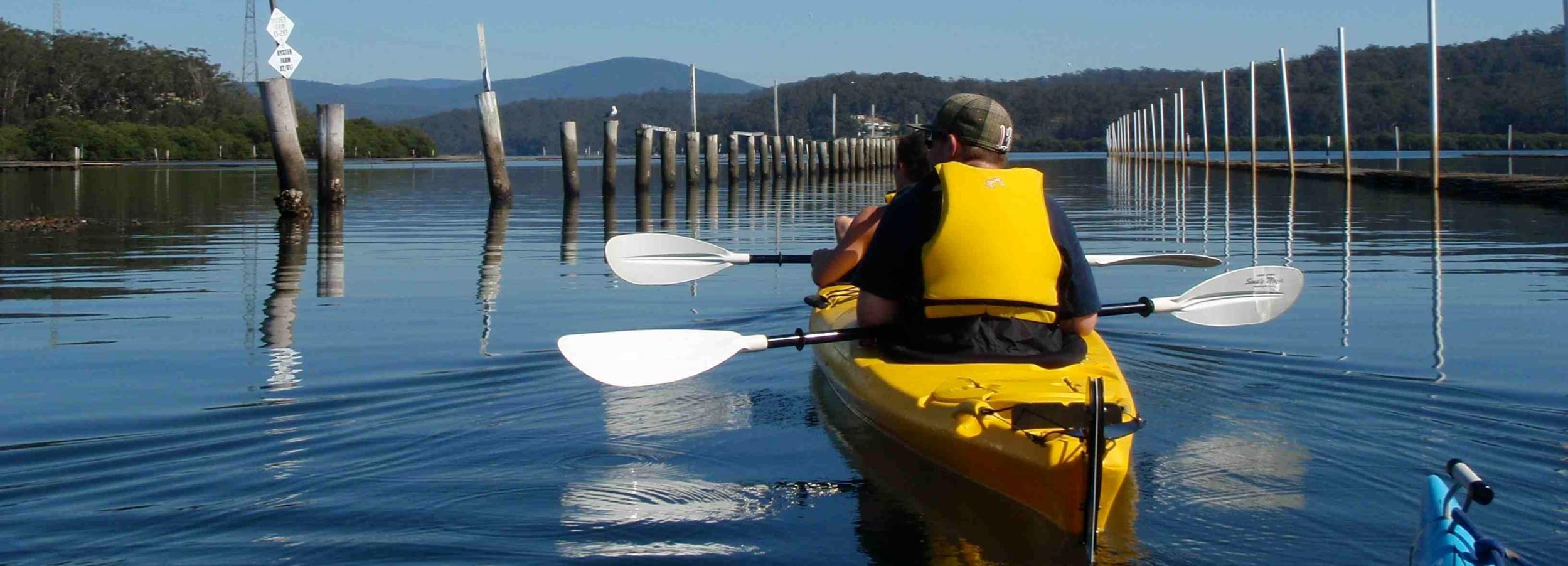 North Batemans Bay: Oyster Tasting Kayak Tour
