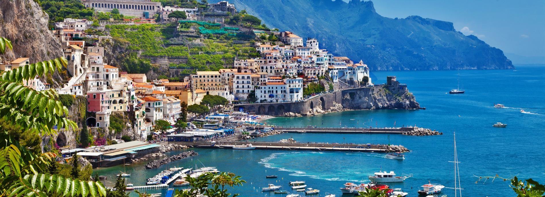 De Sorrento: Excursion privée Positano, Amalfi et Ravello