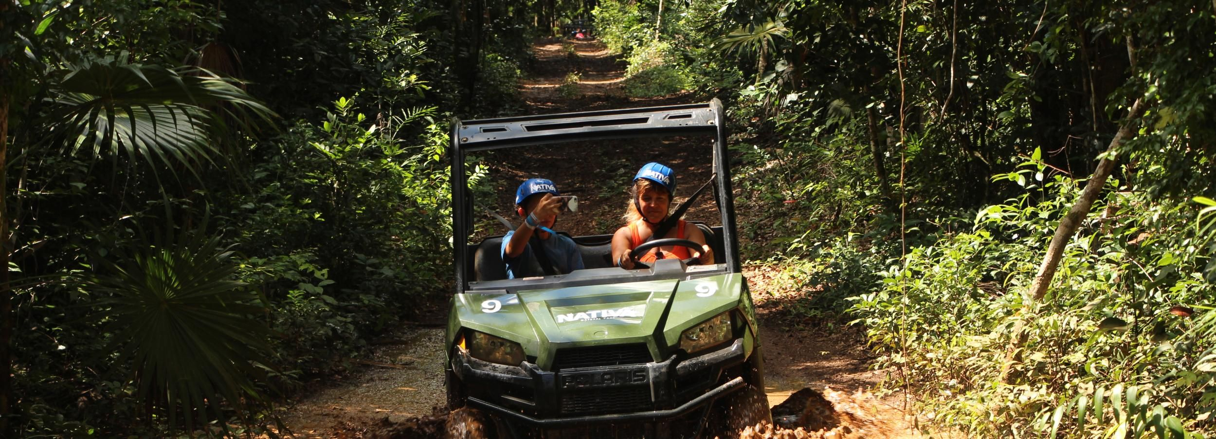 Riviera Maya: Solferino Jungle & Mayan Culture ATV Tour