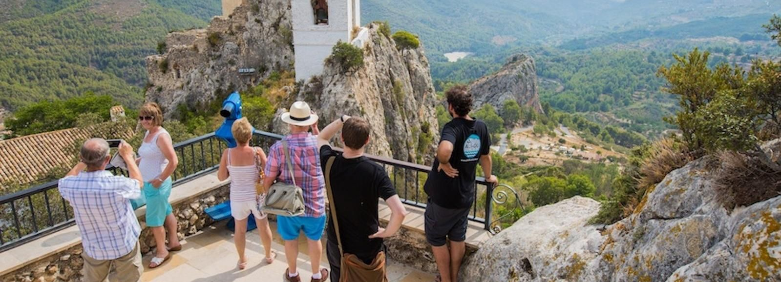 Vanuit Alicante: Guadalestvallei en watervallen van Algar