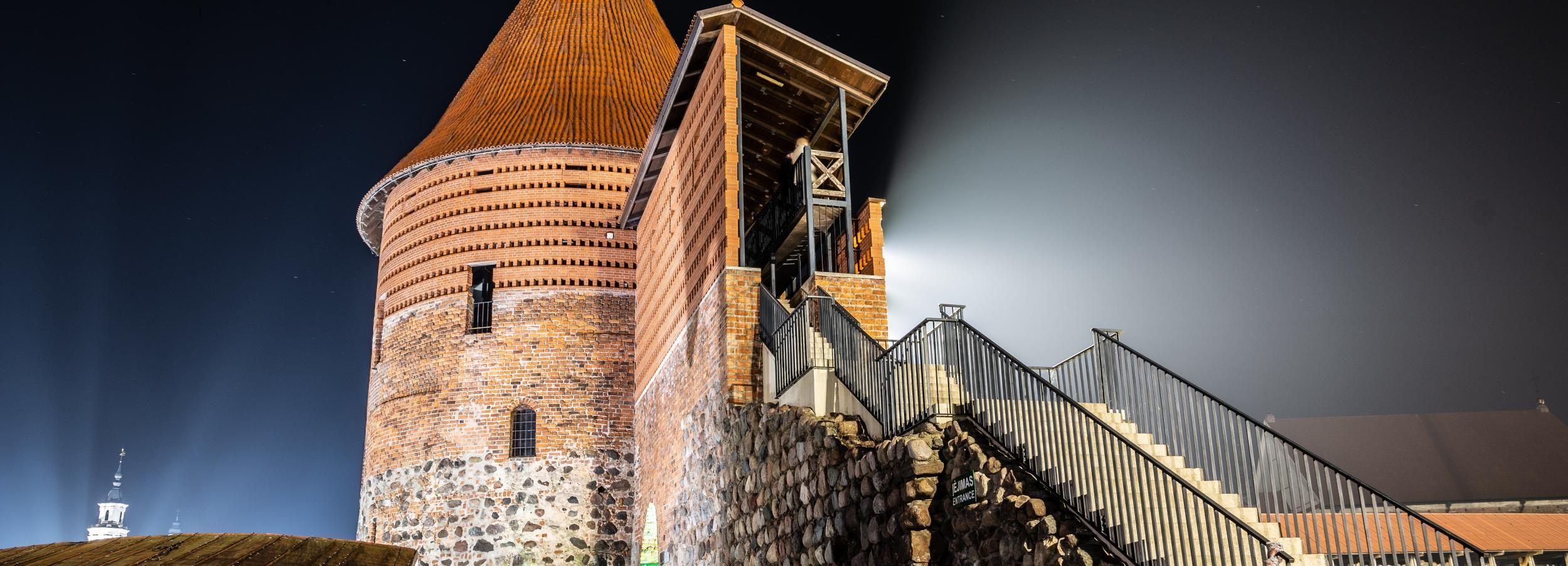 Cidade Velha de Kaunas: Tour Fantasma de 2 Horas