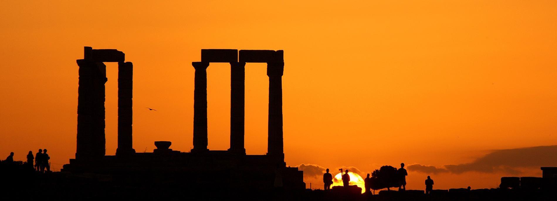 Aten: resa i solnedgången till Kap Sunion & Poseidon-templet
