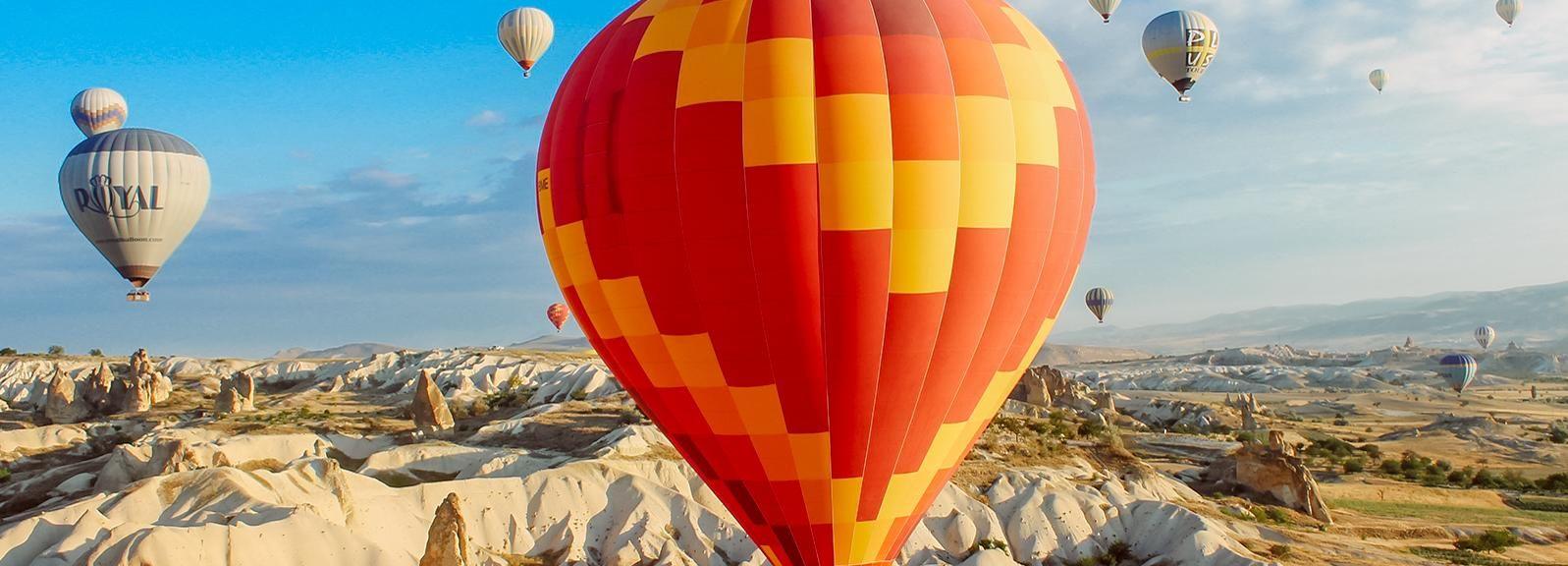 Cappadocia: tour in mongolfiera
