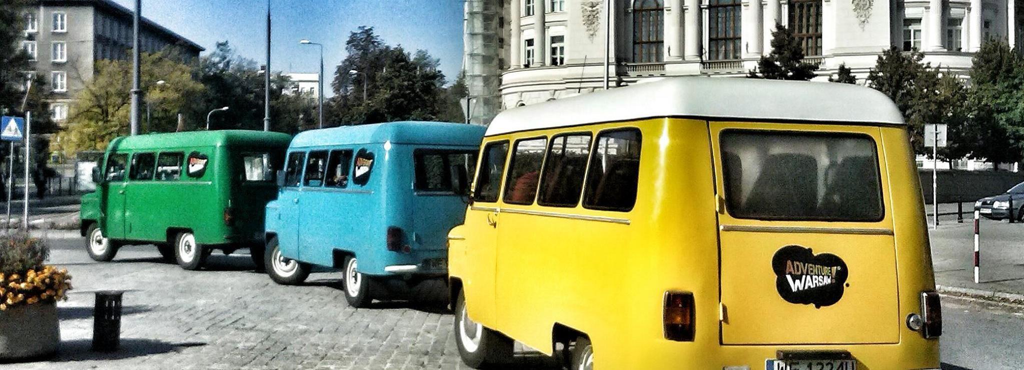 Varsavia: tour ebraico privato d'auto d'epoca