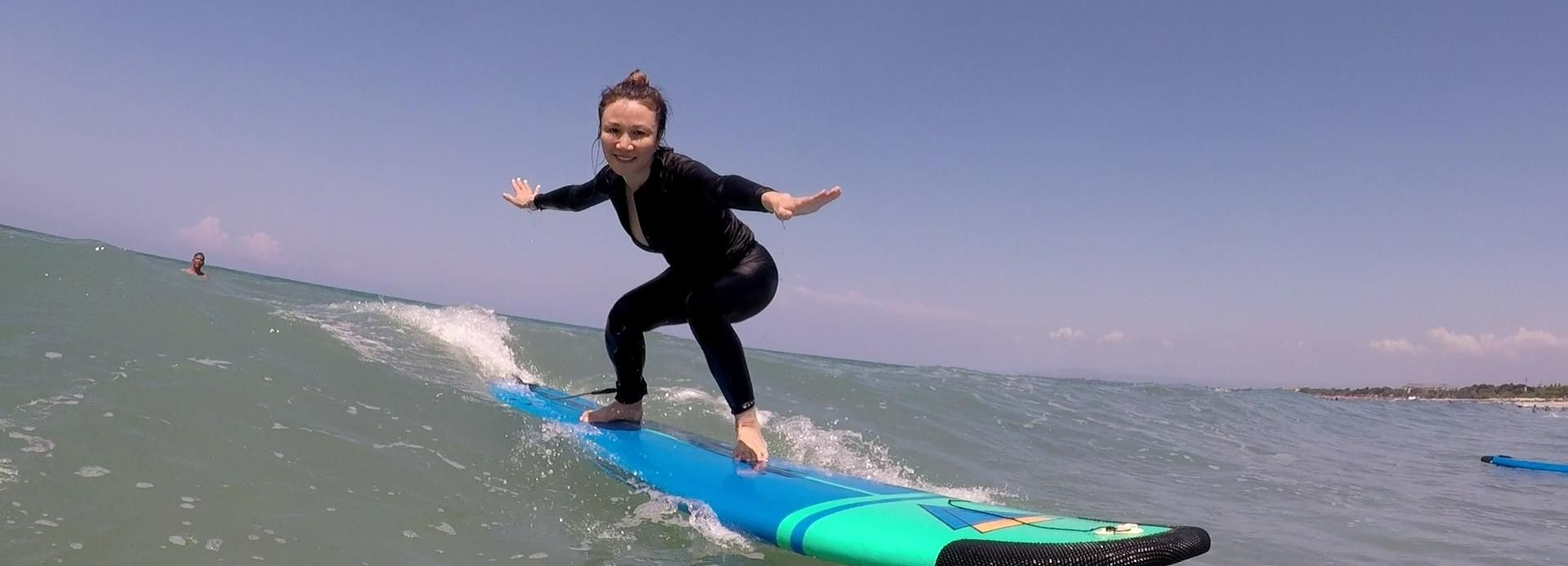 Seminyak: Beginners Surf Private Lesson with GoPro Shot