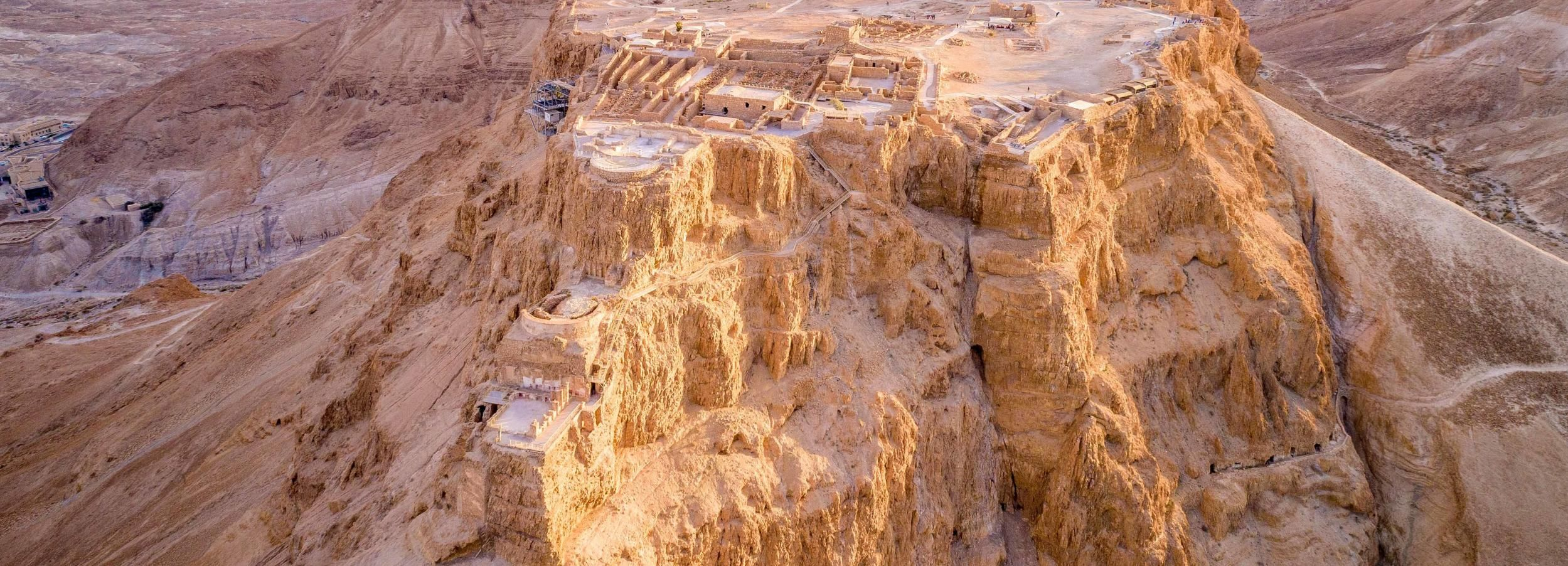 From Tel Aviv: Masada, Ein Gedi and Dead Sea Guided Tour