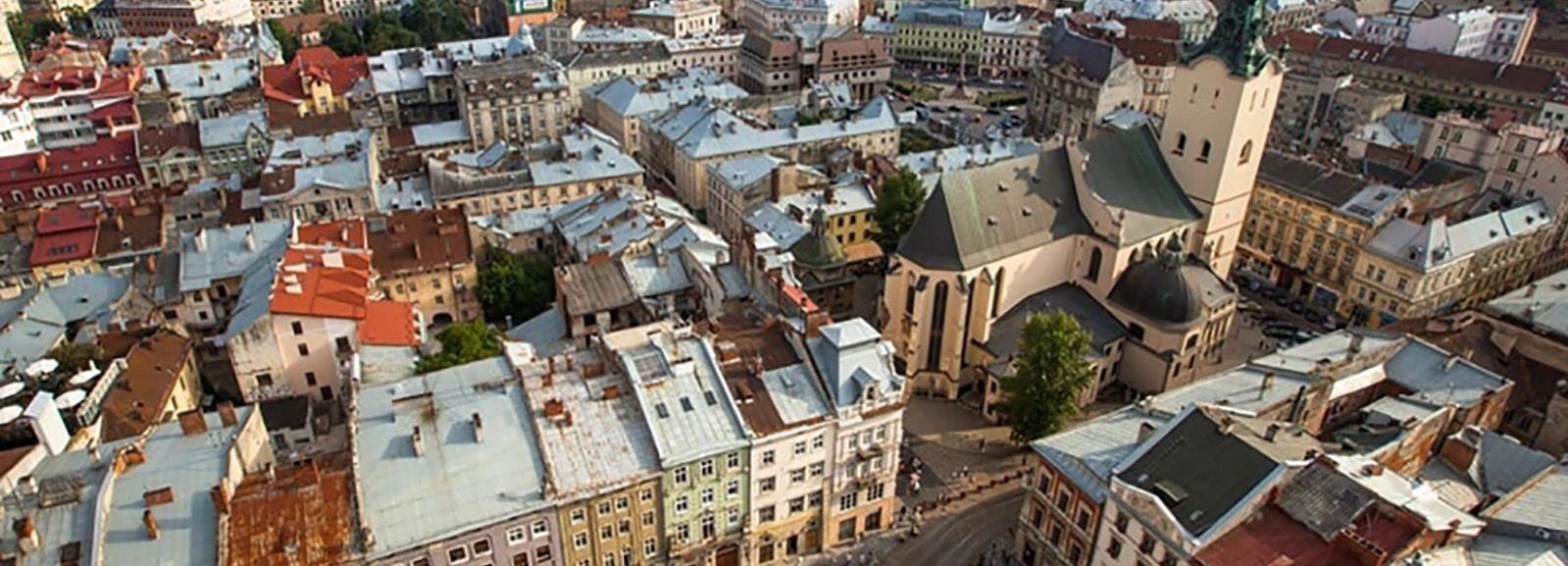 Lviv: Rondleiding met panoramische rooftop
