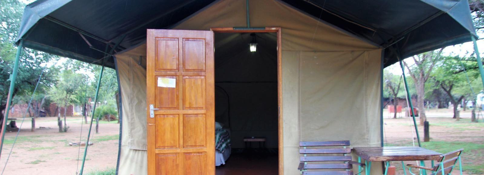 Johanessburg: aventure de camping de 3 jours au Pilanesberg