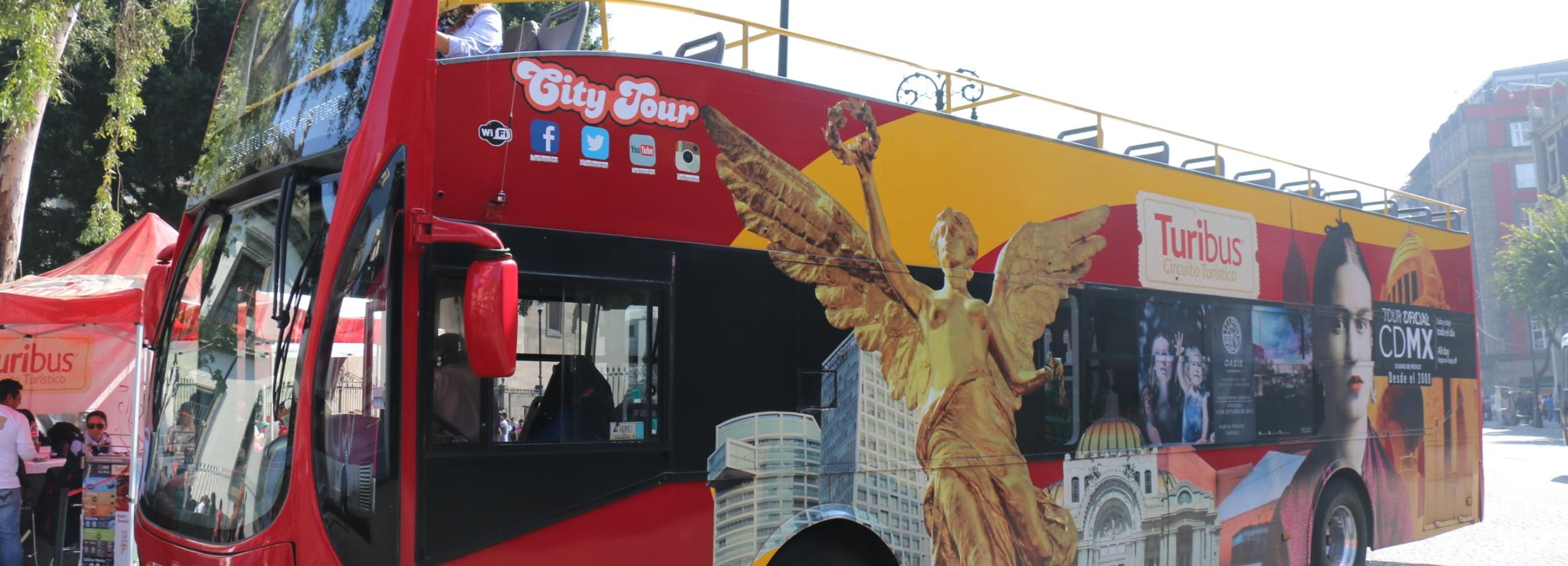 Mexico City: Full-Day Hop-on/Hop-off Bus Tour