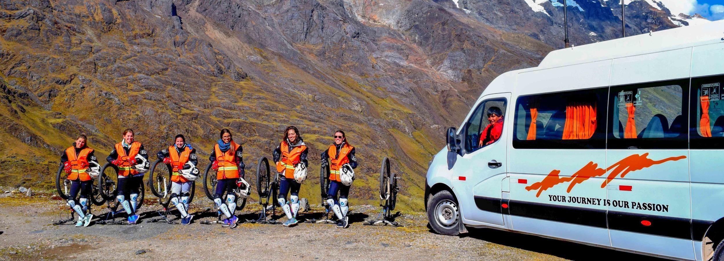 Aventura inca de 2 días con ciclismo de montaña y rafting