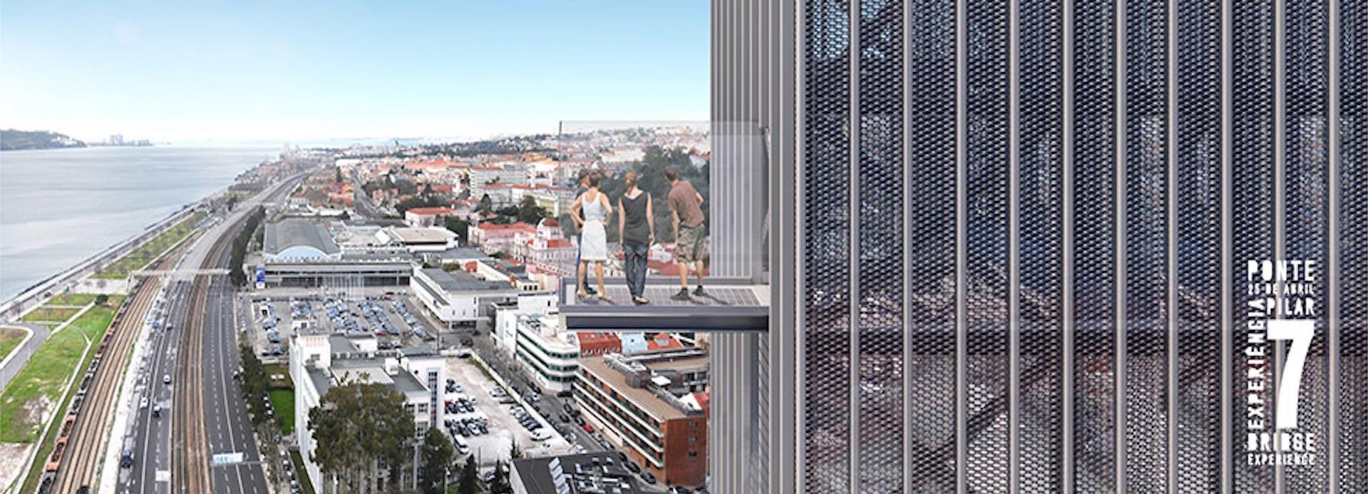 Lissabon: Ticket für die Tour am 7. Brückenpfeiler