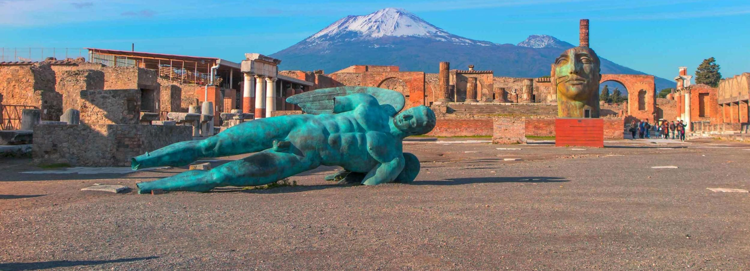 From Rome: Pompeii Day Trip by Fast Train and Car