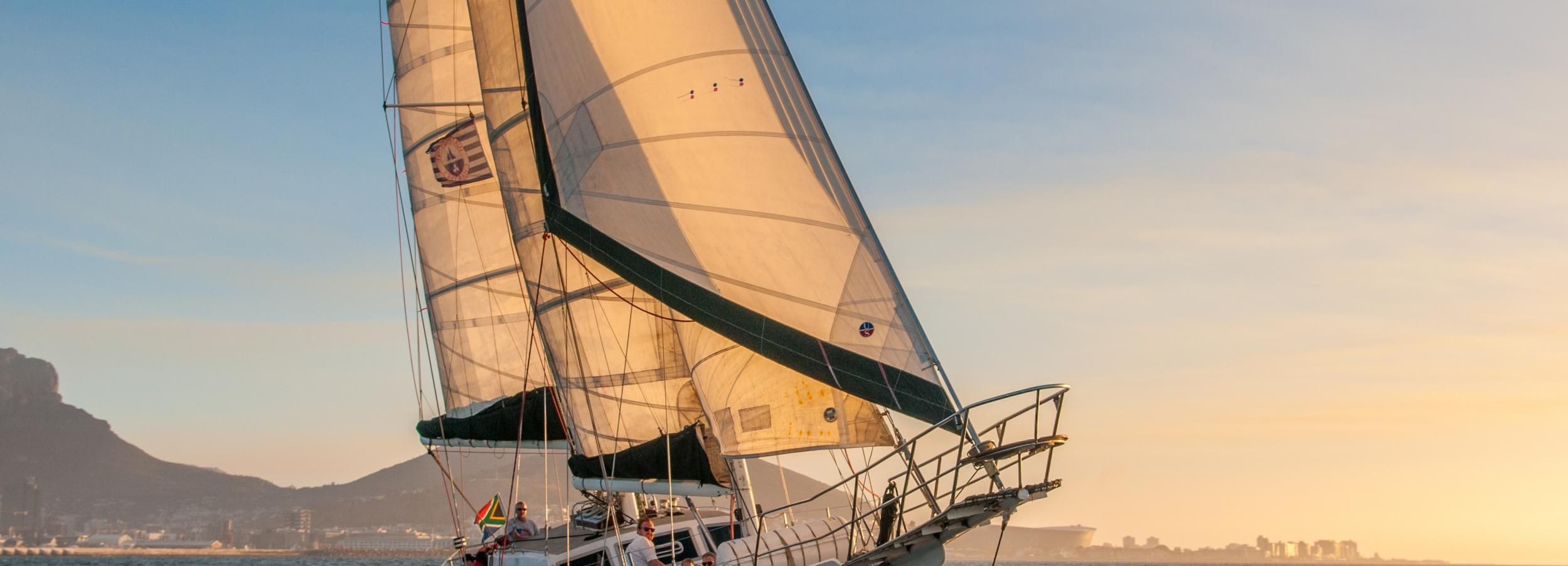 Cape Town: Table Bay 1-Hour Cruise on the Schooner Esperance