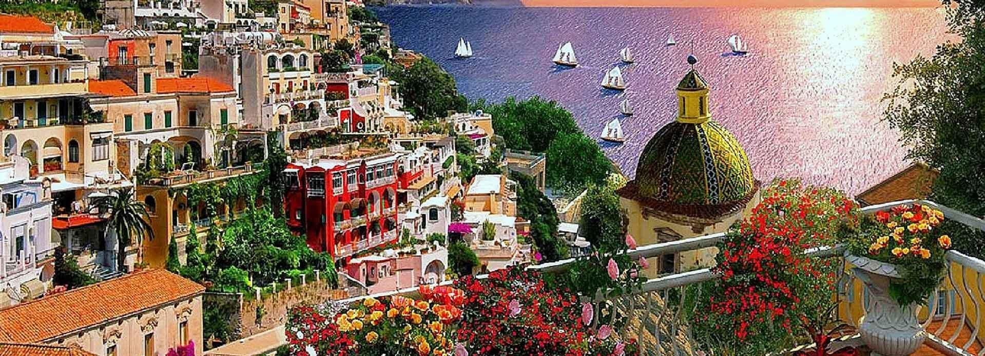 Positano, Amalfi and Ravello Small group from Sorrento