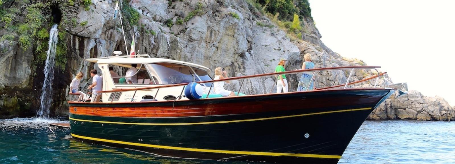 Positano et Amalfi en bateau