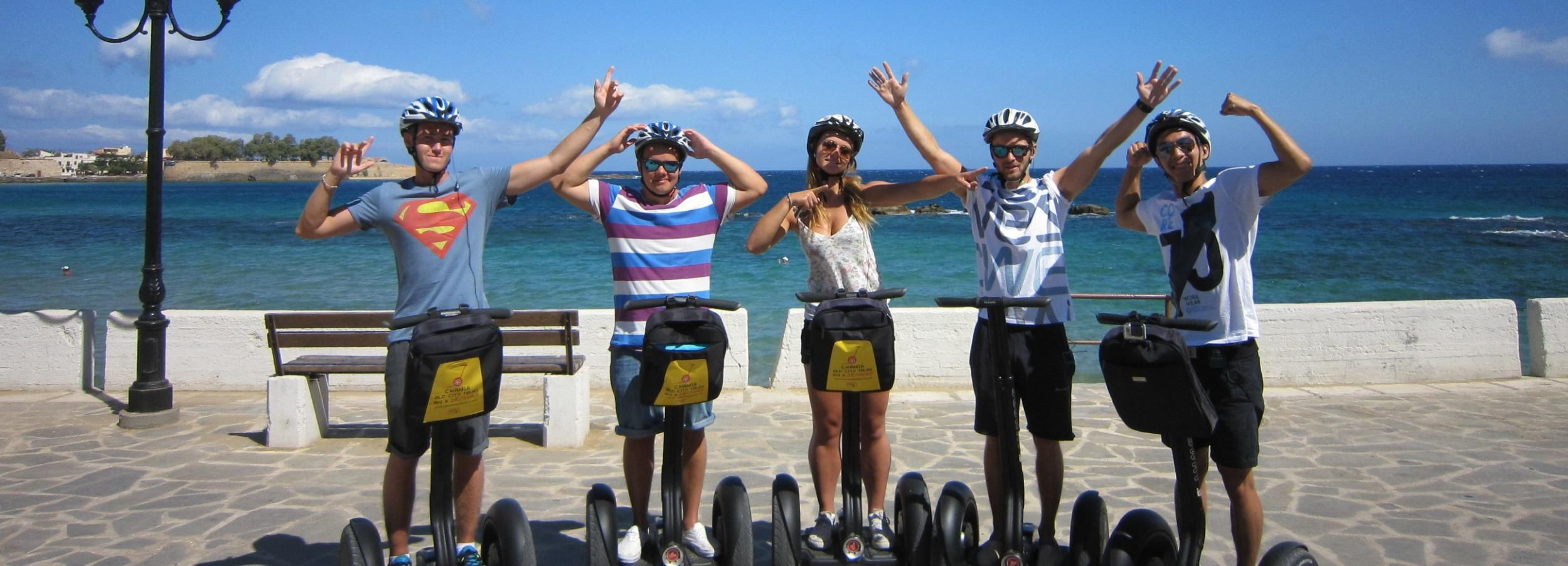 Chania: Old City & Harbor Combo Segway Tour