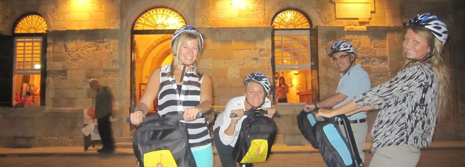 Chania, Crete: 90-Minute Segway Night Tour
