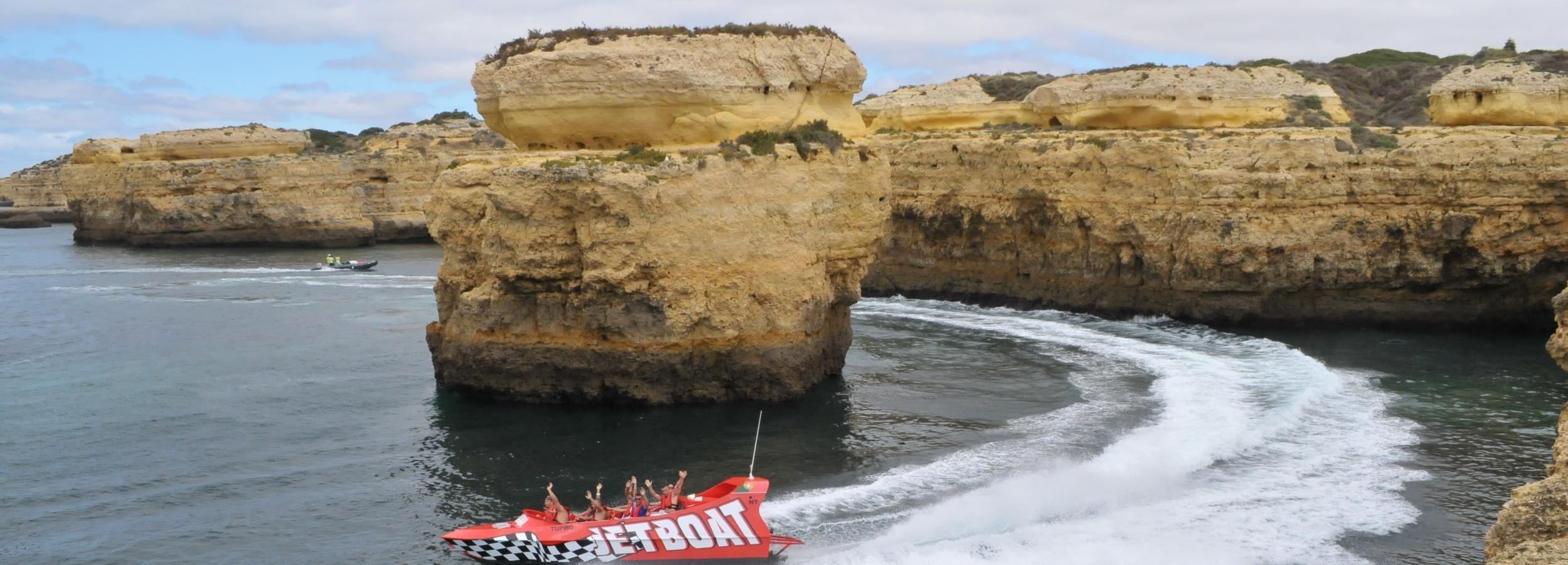 Algarve: Passeio Barco a Jato 30 Minutos
