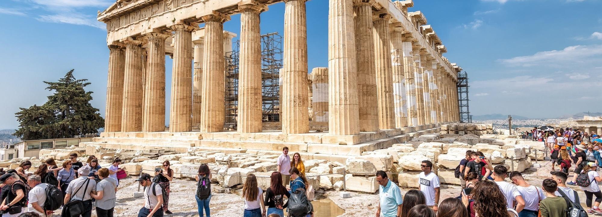 Acrópolis y museo: entradas con tasa de reserva incluida