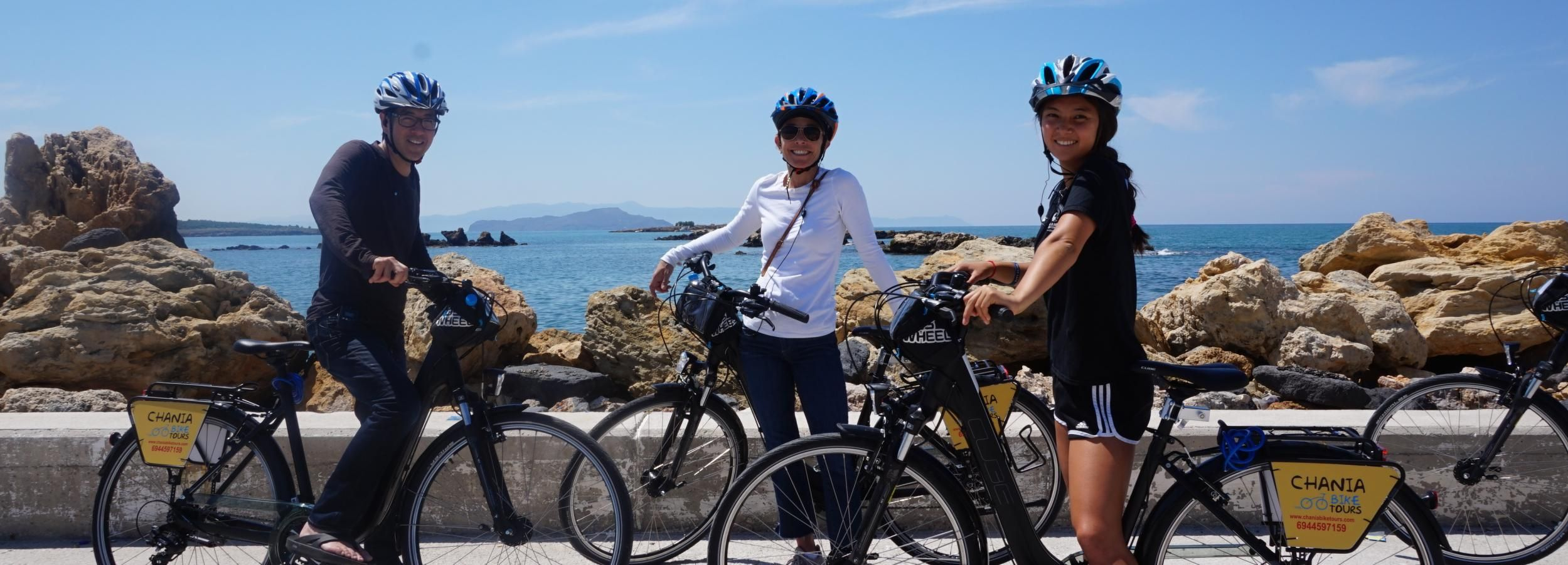 Chania: Guided Bike Tour