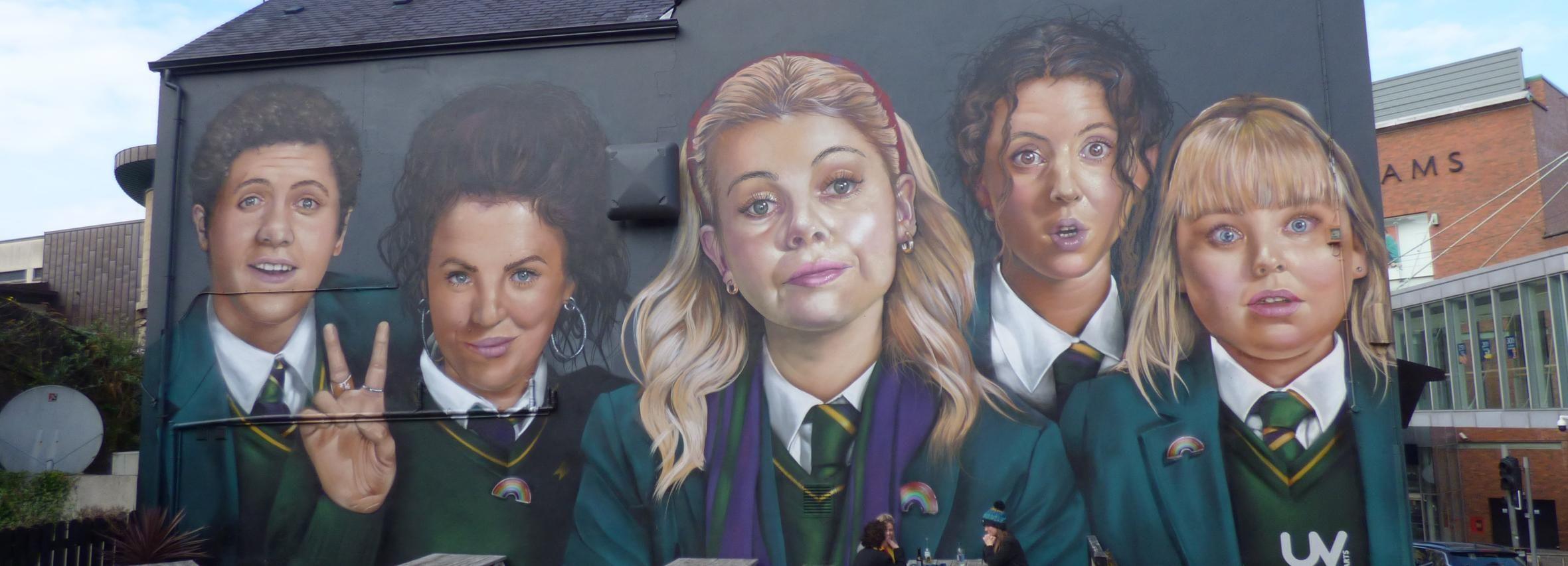 Derry: programa de locaciones de filmación de Derry Girls