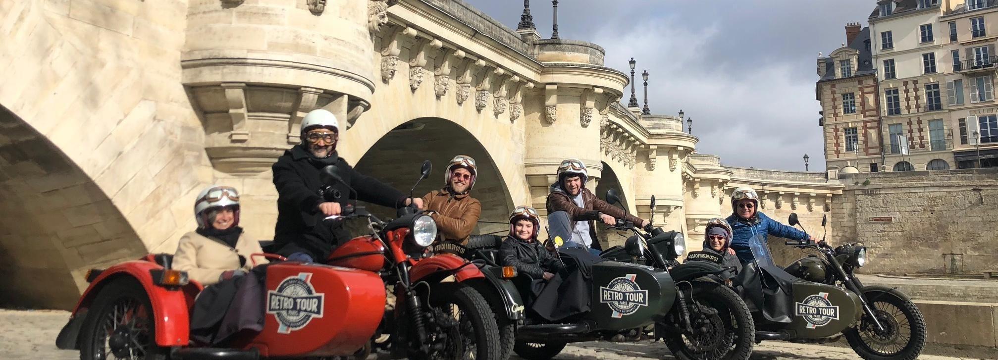 Paris: Best of Paris and Versailles Private Tour by Sidecar