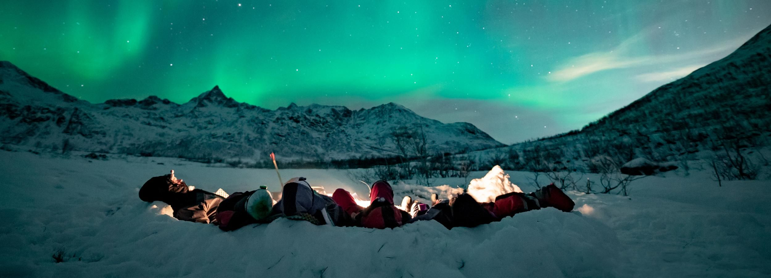 From Tromsø: Small Group Northern Lights Tour