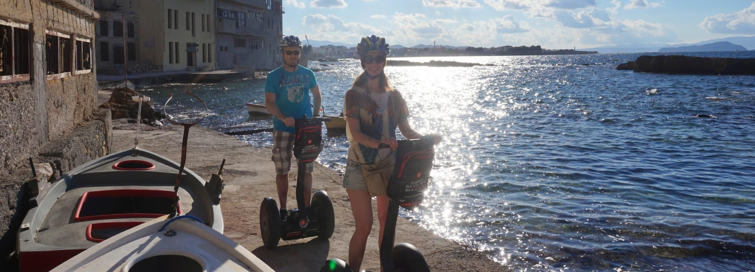 Chania: Guided Halepa Segway Tour
