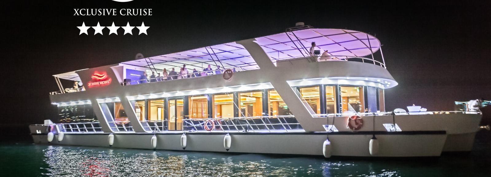 Dubaï: dîner croisière de luxe dans la marina avec concert