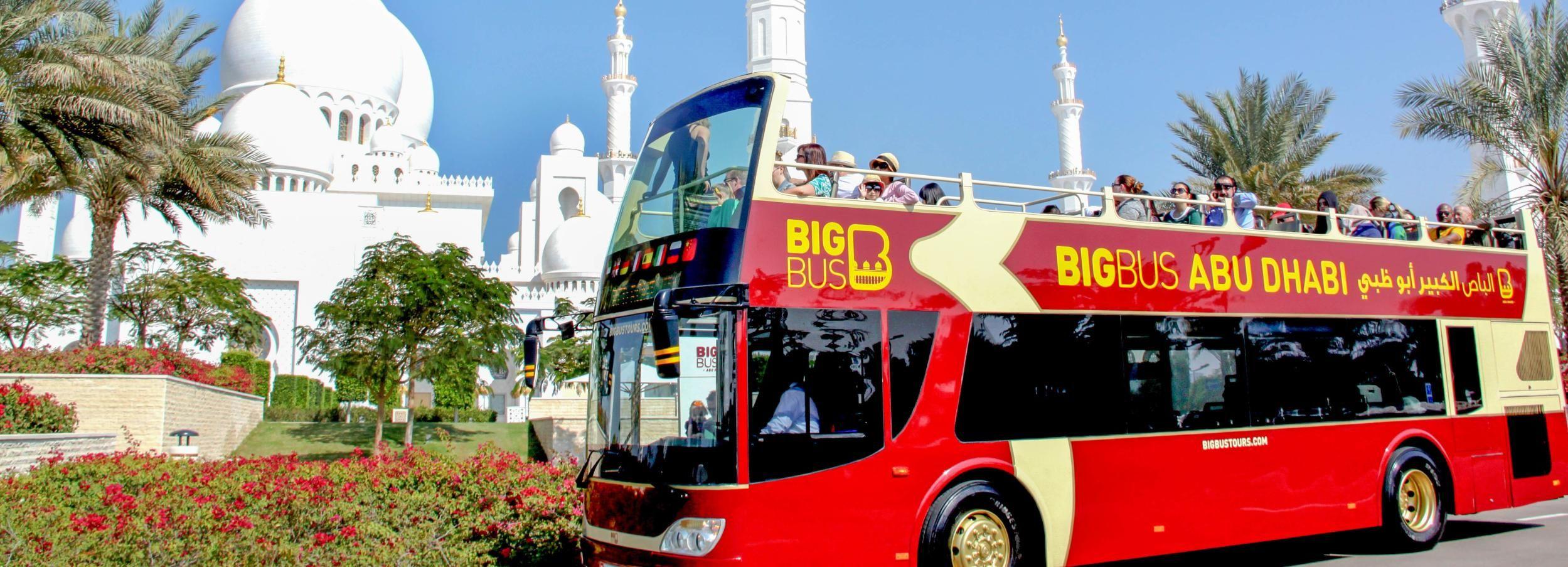 Abu Dhabi: Classic 1-Day Hop-On Hop-Off Tour