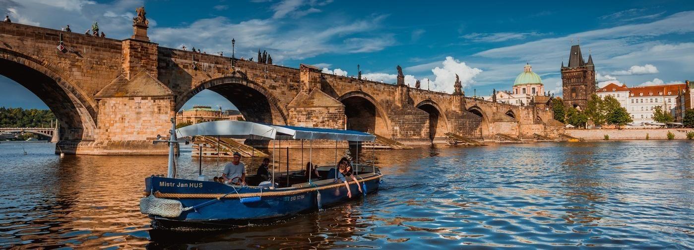 Praga: crucero de 45 minutos hasta el Canal del Diablo
