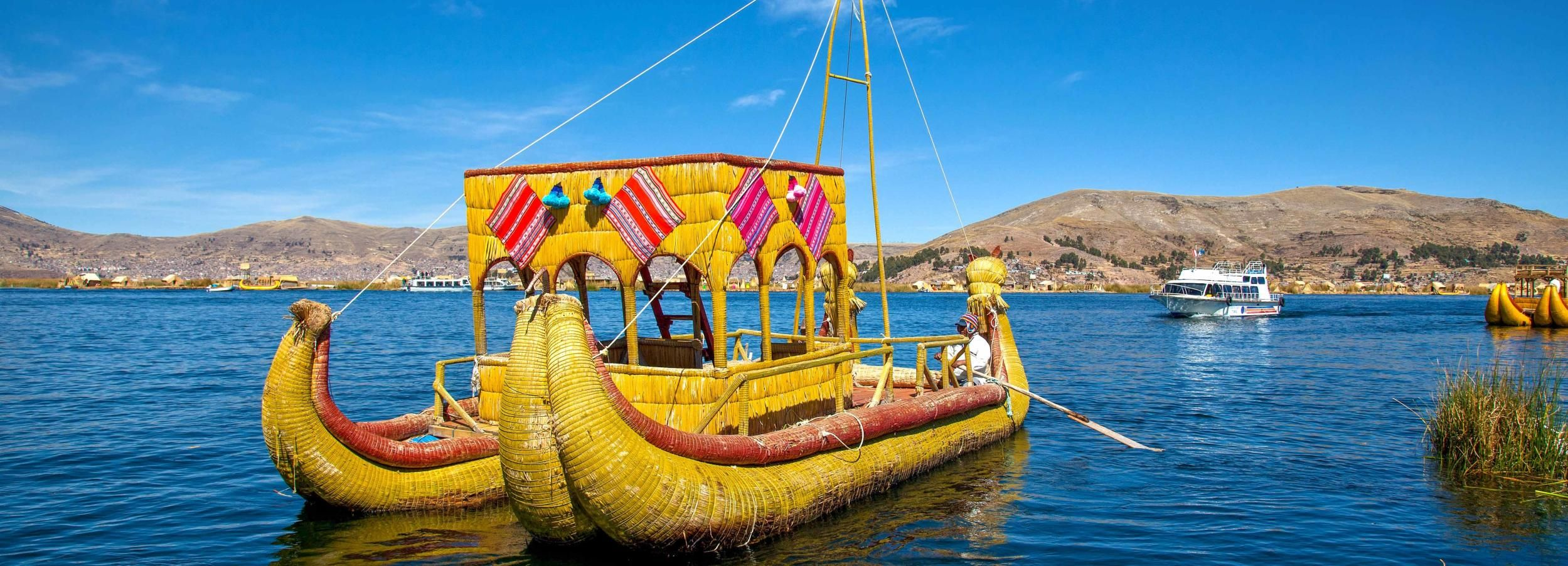 Uros and Taquile Island Boat Trip from Puno