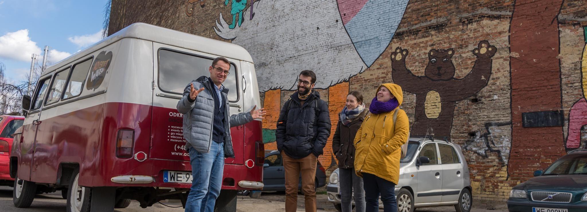 Varsavia: tour di 4 ore delle zone meno conosciute