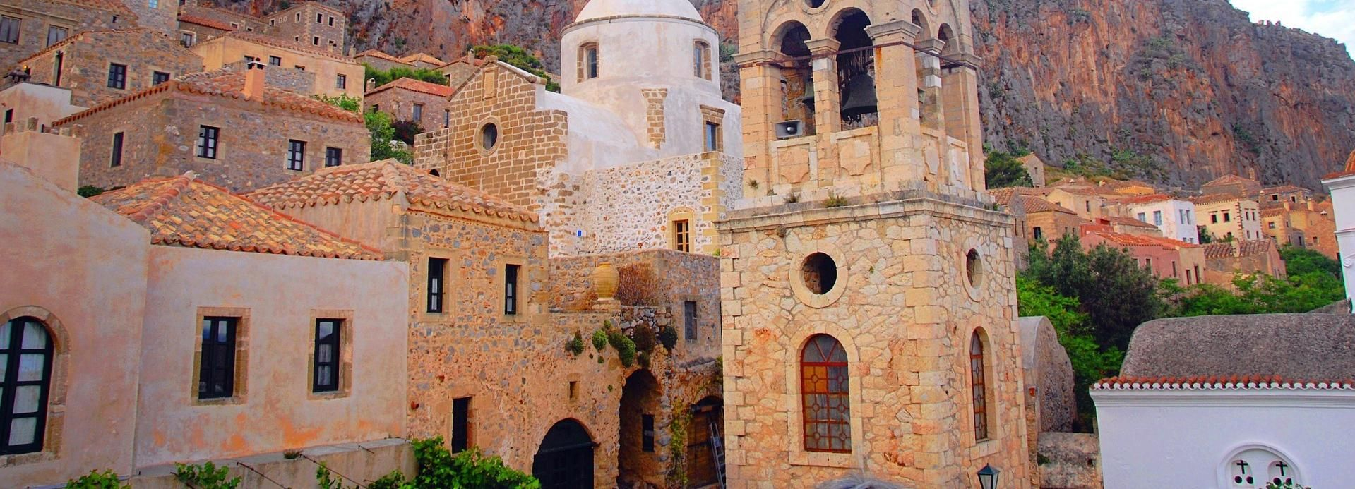 From Athens: 3-Days in Nafplio, Monemvasia & Mani with Hotel