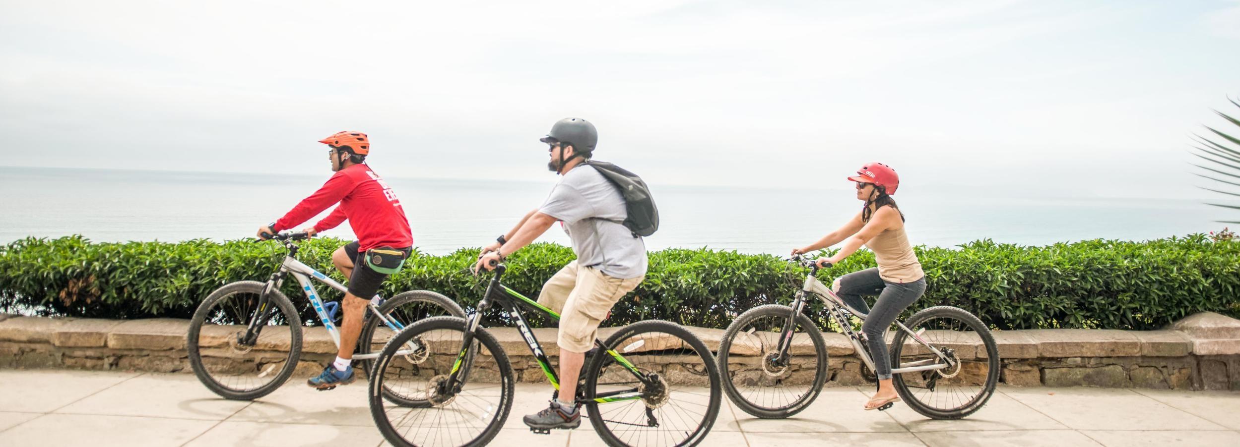 Lima: Cidade e Costa Cultura Bike Tour com um local