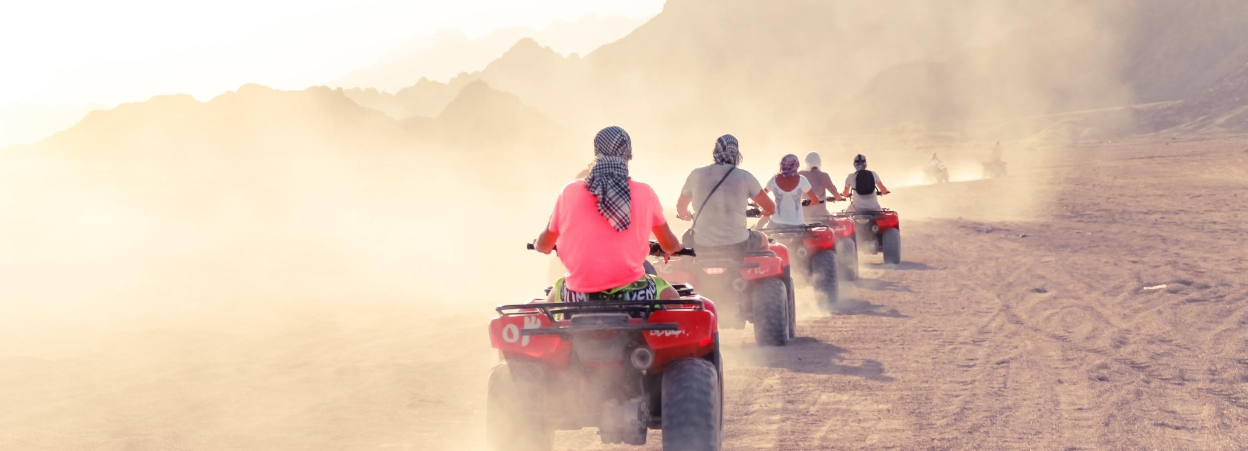 Sharm El Sheikh Desert Safari com passeios de camelo e bicicleta