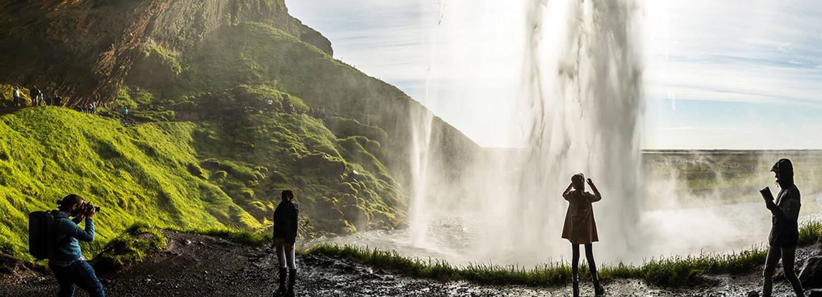Island: Heldagstur till sydkusten, svart strand & vattenfall