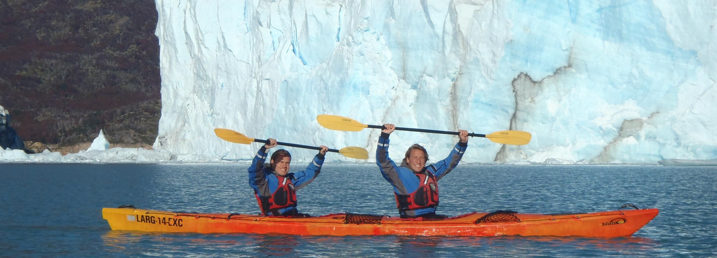 El Calafate: Perito Moreno Kayak Experience with Transport