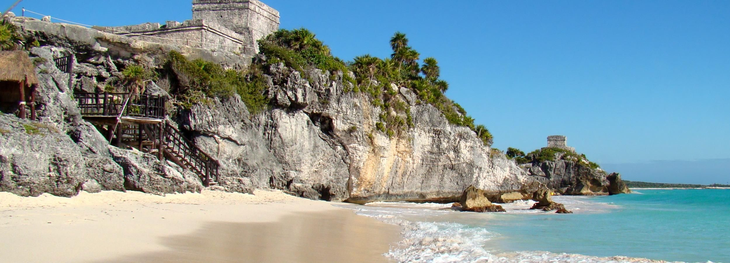 Ab Playa del Carmen: Tulum Ruinen, Höhlen & Schildkröten
