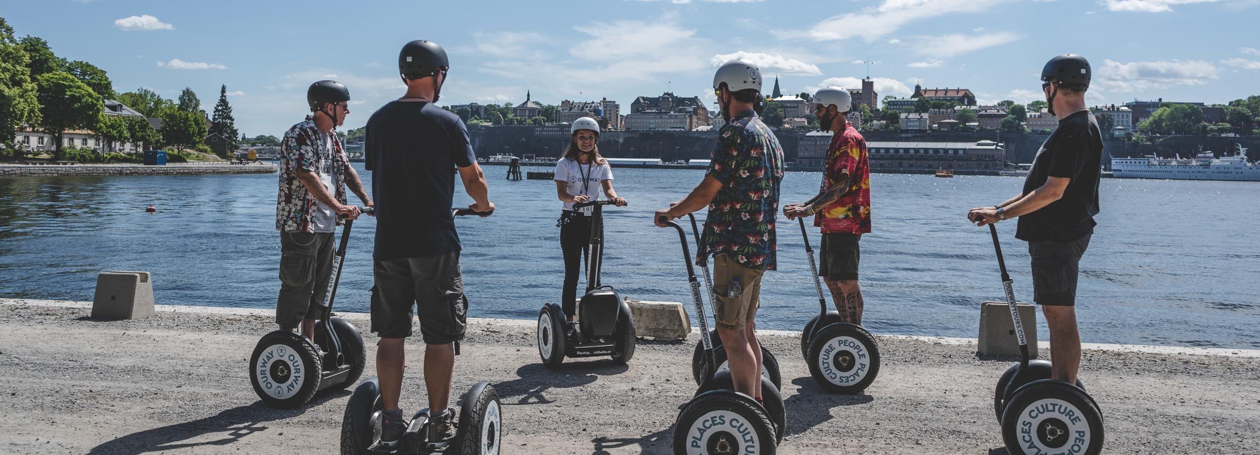 Meraviglie di Stoccolma: tour in Segway di 2 ore