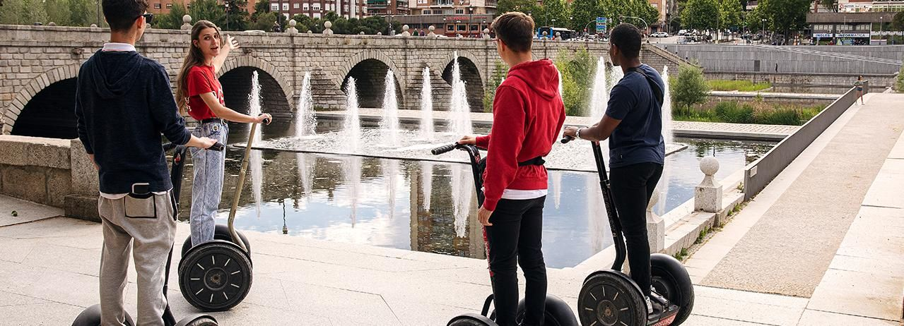 Tour de Madrid en Segway