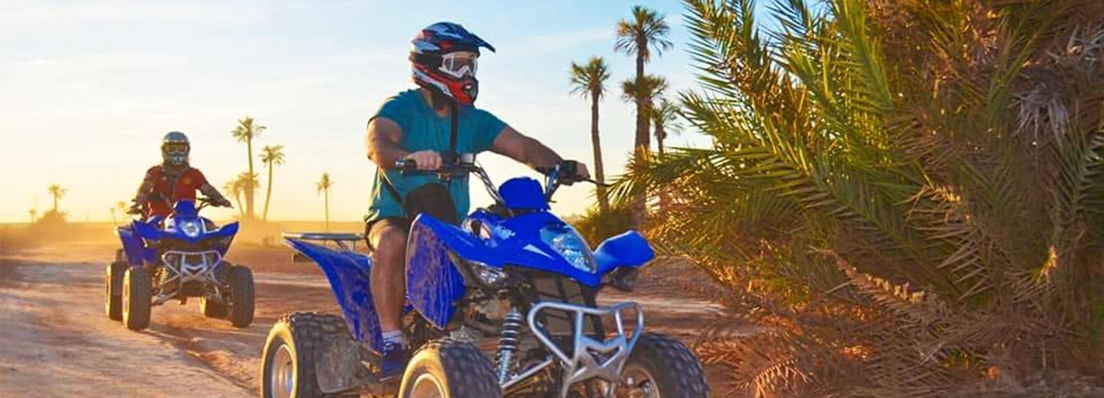 Marrakech Desert & Palm Grove Quad Bike Tour