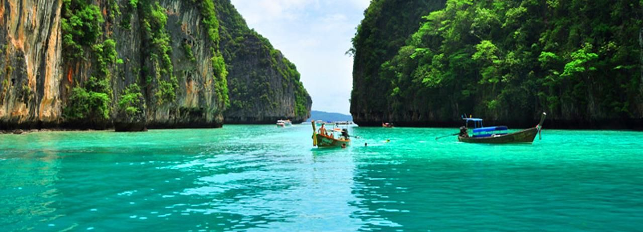 From Phi Phi: Half-Day Private Longtail Boat Charter