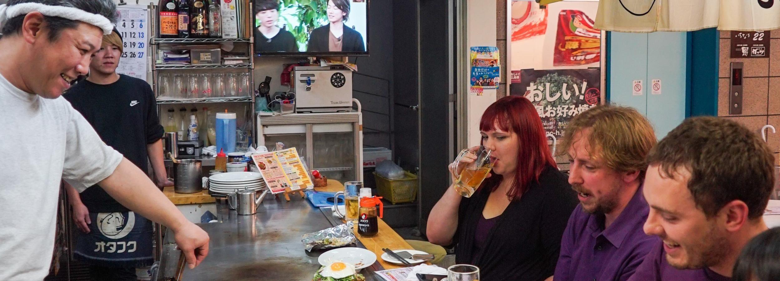 Hiroshima: recorrido gastronómico por el bar