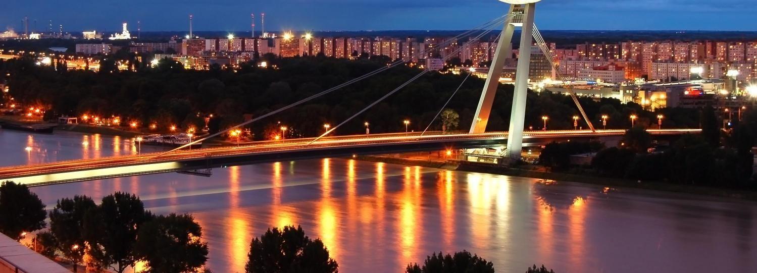 Bratislava by Night Walking Tour & Drink at Observatory Bar