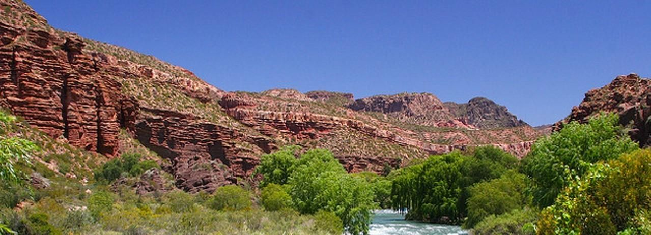 From Mendoza: San Rafael Sightseeing and Atuel Canyon Tour