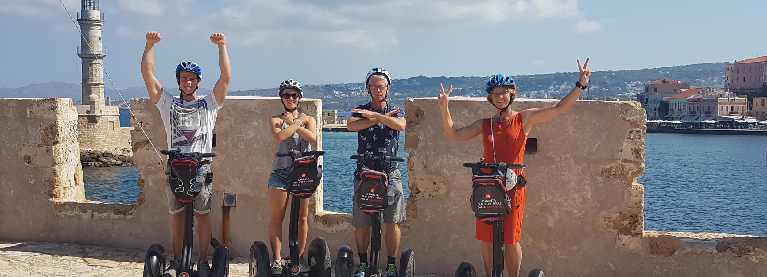 Chania: 3-Hour Guided Segway Tour